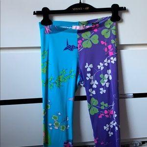 Versace for H&M Floral Leggings